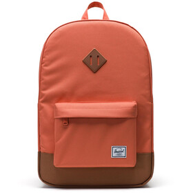 Herschel Heritage rugzak, apricot brandy/saddle brown